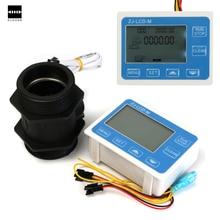 G2 «2 дюйма Расход Воды Датчик Метр + ЖК-Дисплей Количественного Контроля