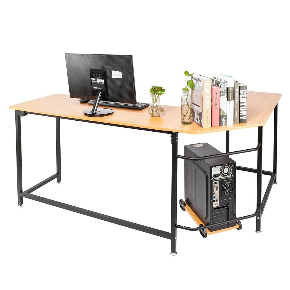 L Shape Wooden Office Table