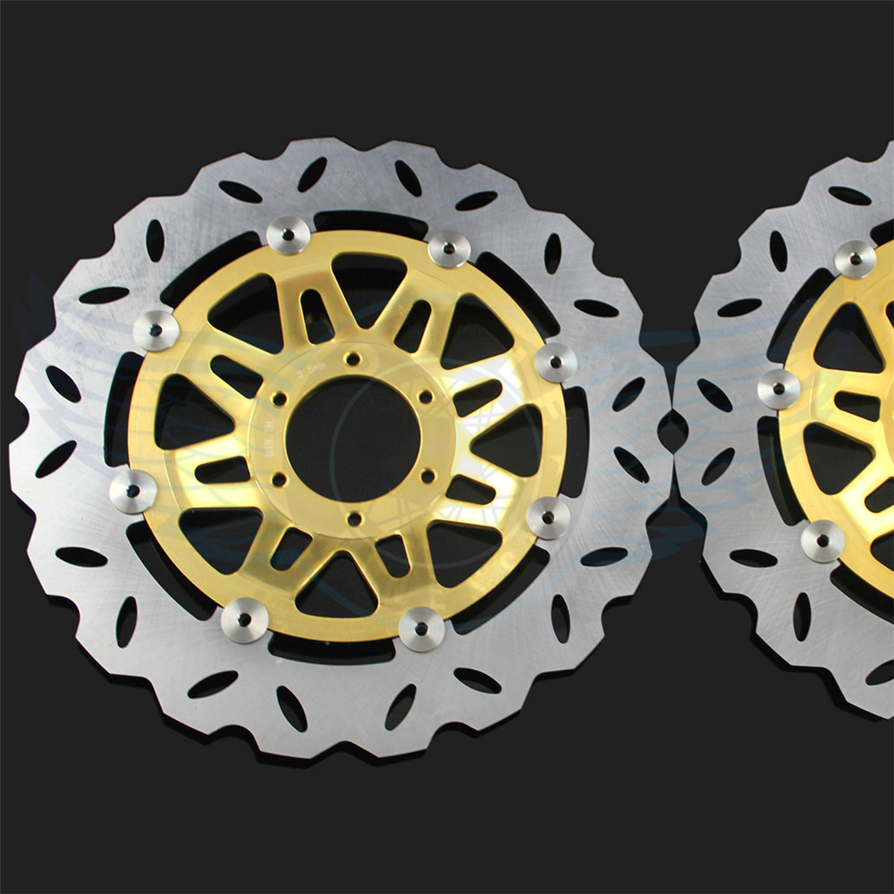 high quality Motorcycle Accessories front Brake Disc Rotor  For Honda CB400 1992 1993 1994 1995 1996 1997 1998  free shipping motorcycle accessories modified for honda cb400 1992 1998 vtec 99 07 new high water pump assembly