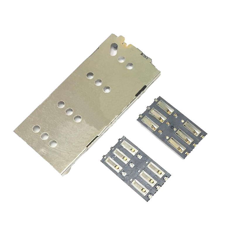NWT Genuine Sim Card Tray For Sony Xperia C3 S55T S55U D2502 D2533 Sim Card Slot For Sony C3 Sim Card Reader Holder Replacement