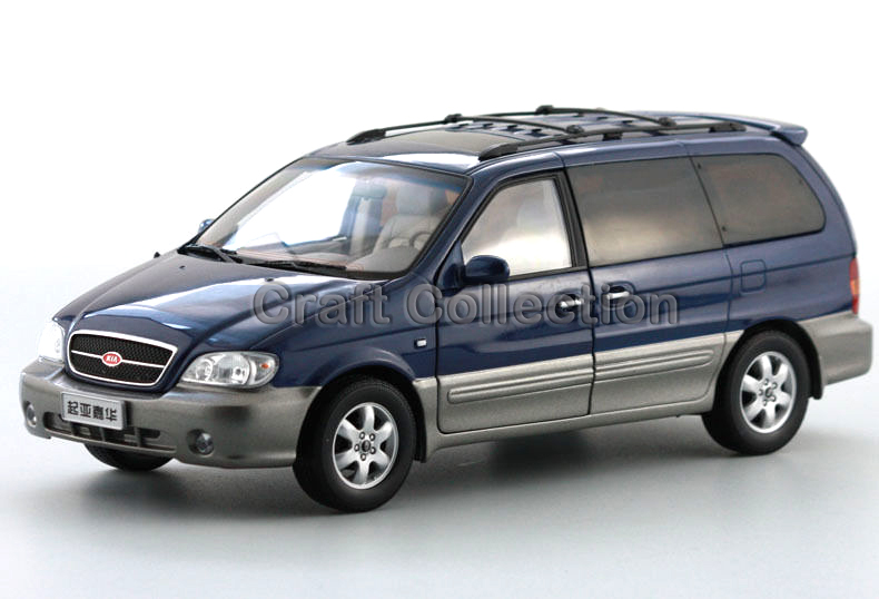 * 1:18 KIA Carnival 2006 Rare Alloy MPV Model Diecast Cars Toy Car Gifts Craft Miniature Rare to Find High Collection Value