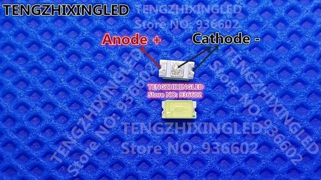 Für TCL 32 Zoll LED Lcd hintergrundbeleuchtung TV Anwendung Led hintergrundbeleuchtung 1206 3216 3V 0,2 W Cool white LED LCD TV Hintergrundbeleuchtung