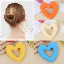 LNRRABC Fashion Women Girls Heart Magic Hair Curler Spiral Curls Roller Curl Rope DIY Styling Tool Accessories