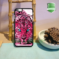 Animal Print Leopard Pink Tiger Art Original Black Cell Phone Cases For Iphone 7 7plus 6