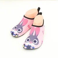 Kids Cartoon Skin Sock Shoes Boys Girls Children Cute Rabbit Breathable Drifting Non Slip Water Shoes