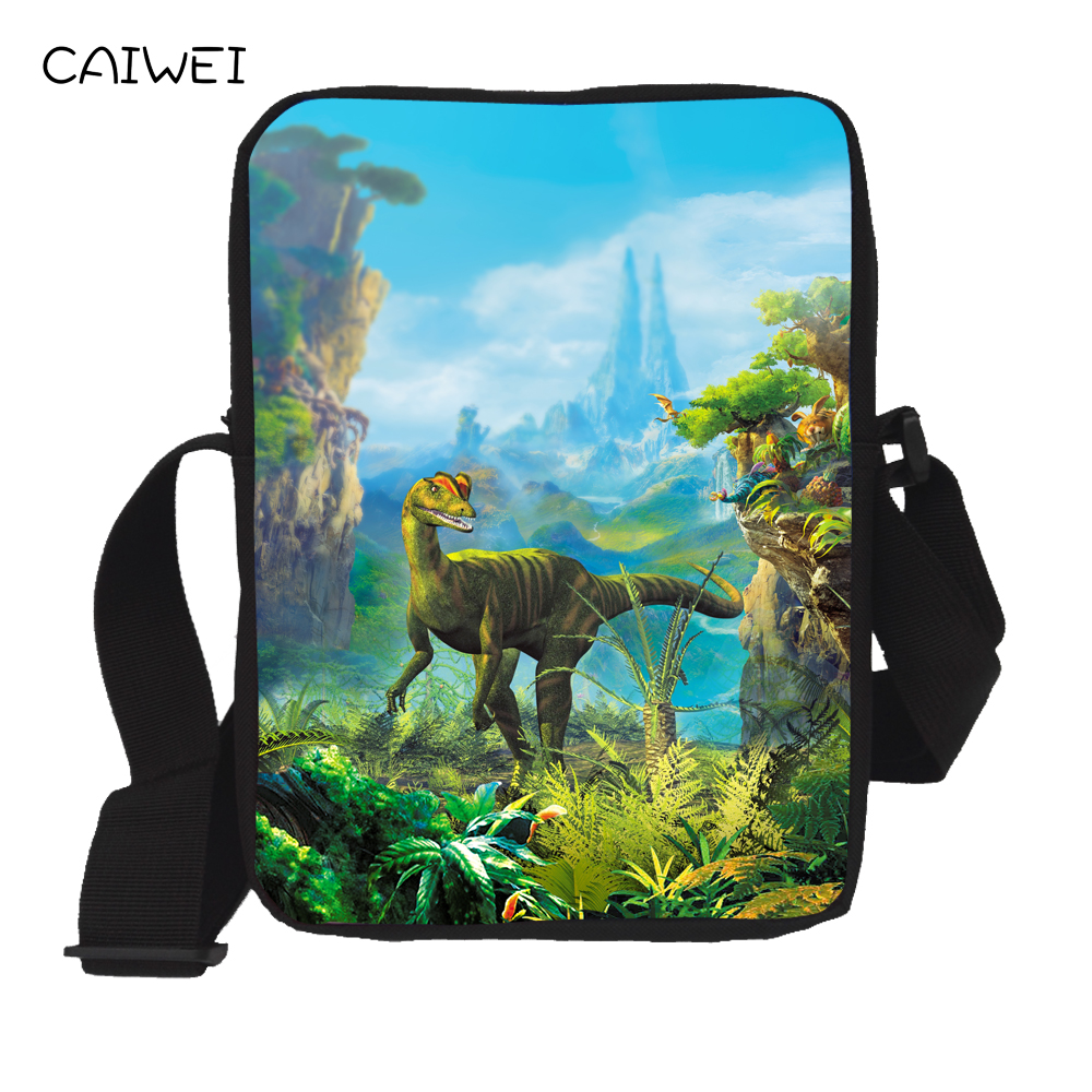 Mini Messenger Bags for Kids 3D Giant Cool Dinosau Shoulder Bags Kindergarten Boy Girl Messenger Bag Book Bag For Baby Mochila