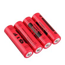 4PCS 18650 Li-ion Rechargeable Battery 3.7V 9800mAh lithium Battery Bateria 18650 Red Yellow Blue Low Reoccurring Drop Shipping(China)
