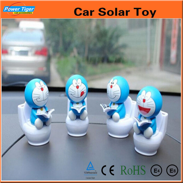 4Pcs Solar Power Toy Swing Solar Dancing Toys Car Decoration ...