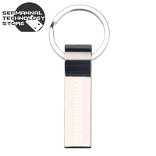 Miniseas with key ring Portable metal 4gb 8gb 32gb 64gb memory stick u disk pen drive