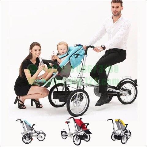 nova moda bebe taga bicicleta carrinho de bebe triciclo bicicleta taga bicicleta carrinho de crianca