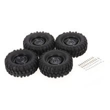 4 stuks 1.9 Inch 96mm Rubber Wiel Velg en Band voor RC Auto 1/10 HSP Redcat Traxxas Axiale SCX10 d9 RC Banden 1/10 Off Road Auto(China)