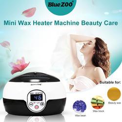 Мини нагреватель для воска эпиляция для удаления волос воск Bean нагреватель с экраном контроль температуры кераотерапия депиляция