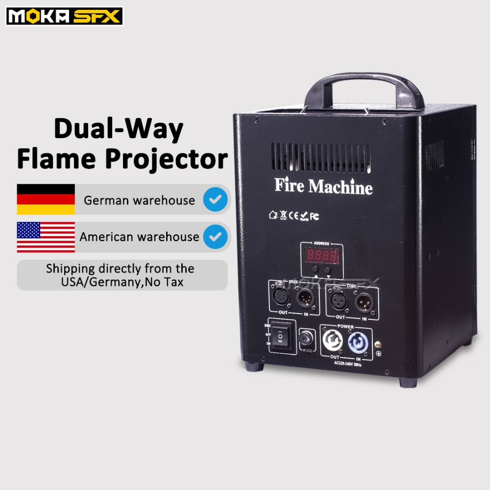 Shipping from Germany warehouse no tax Dual way Flame Machine DMX Fire Machine DJ Stage Effect flame projectorShipping from Germany warehouse no tax Dual way Flame Machine DMX Fire Machine DJ Stage Effect flame projector