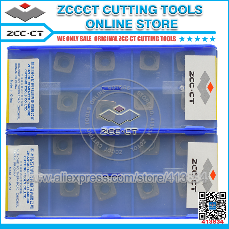 ZCC CT SDMT09T312 DM YBG302 milling cutter tool insert SDMT09 for medium cut of all the