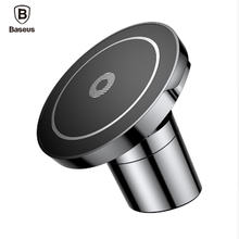 Baseus Car Mount Qi Wireless Charger For iPhone X 8 Samsung Note 8 S8 S7 Fast Wireless Charging Magnetic Car Phone Holder Stand(China)