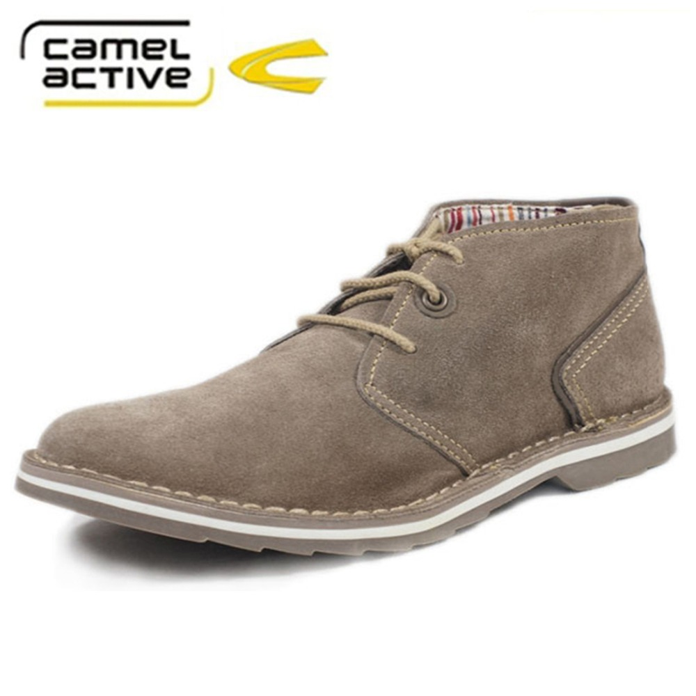 Camel active Brand italy shoes man Flats Shoes Fashion Nubuck Leather anti  slip Lace Up oxford Moccasins Plus size shoes-in Women's Flats from Shoes  on ...