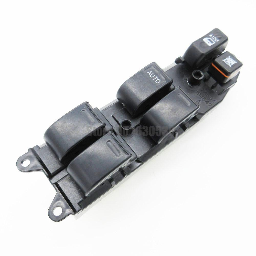 Fensterheber Master Control Schalter Für Toyota Corolla 1997-2004 7AFE 4AFE 3 ZZFE 84820-12340 84820-42060 84820-60110