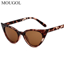 MOUGOL 2019 New Cat Eye Women Sunglasses Retro Sexy Brand Design Sun Glasses Oculos De Sol Eyewear Feminino