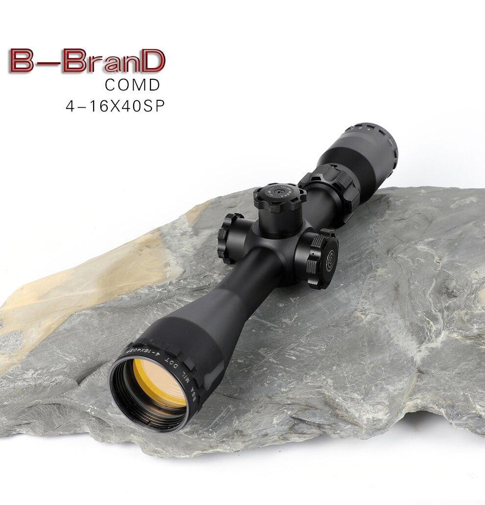 BSA OPTICS ST Tactical optique fusil pistolet à air vue lumineux Lunette de visée 4-16x44