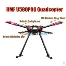 HMF U580 Pro Totem Series RC Drone Quadcopter Frame Kit 4 Axis Foldable Rack Carbon Umbrella