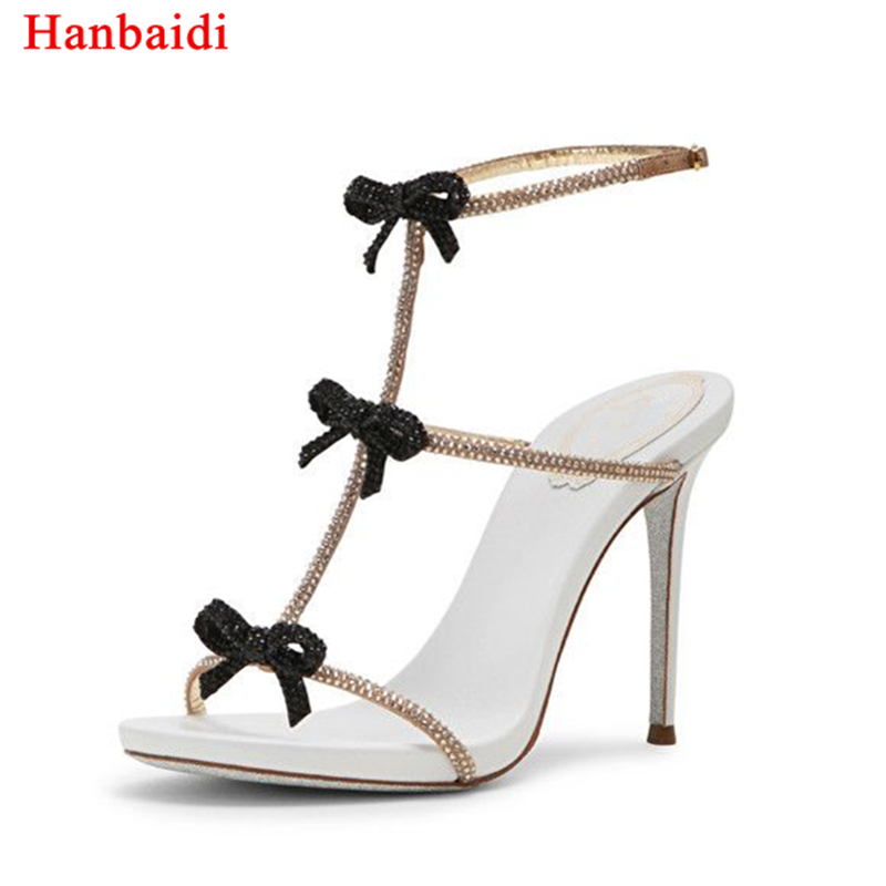 Soft Leather Strappy Stiletto Heels Studded Women Gladiator Sandals Open Toe Ankle Wrap High Heels Party Wedding Women Shoes цены онлайн