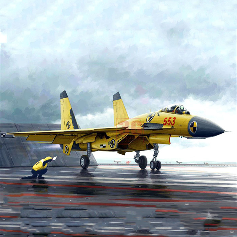 kids toys Collection Diecast Airplane Model  1/72 China Shenyang J-15 Fighter with Launching Deck Aircraft boys gift brand new 1 72 scale fighter model toys usa f a 18f super hornet fighter diecast metal plane model toy for gift collection