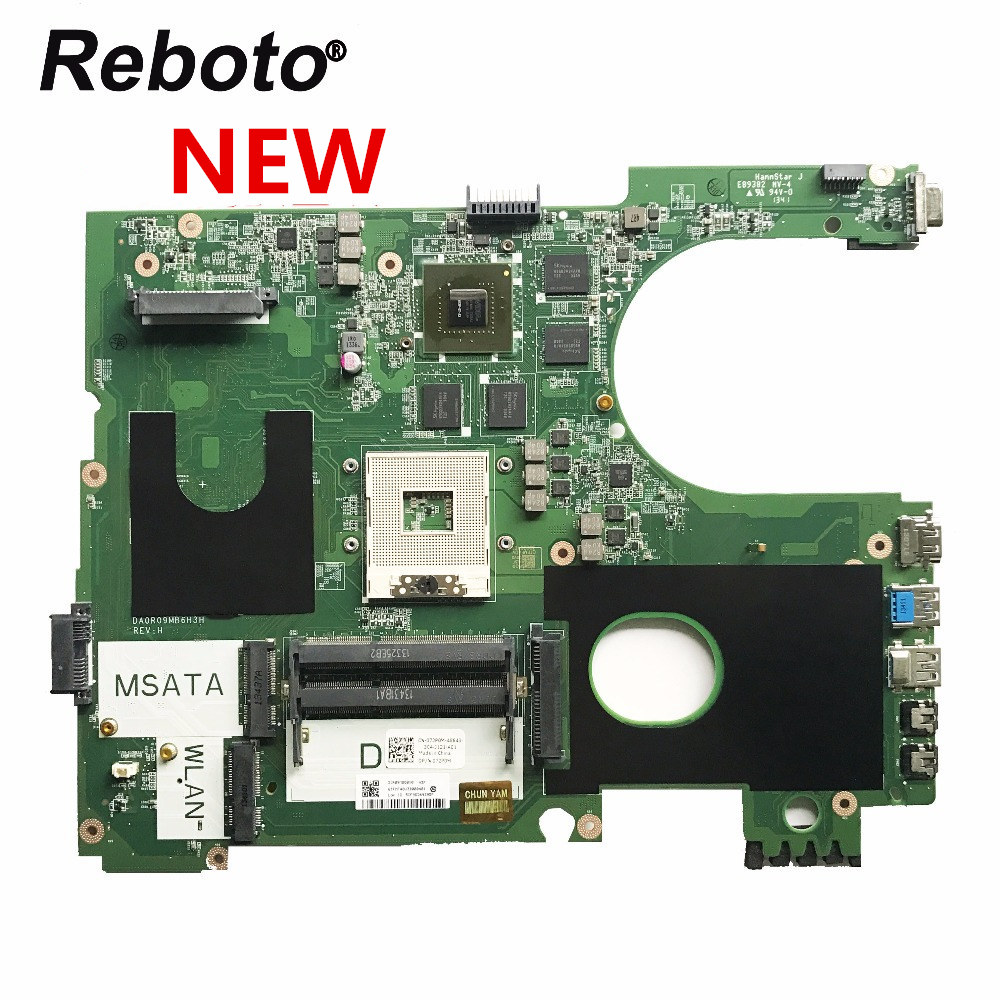 Reboto NEW For DELL 7720 Laptop Motherboard CN 072P0M 072P0M 72P0M DA0R09MB6H1 DA0R09MB6H3 HM77 GT650M 2GB