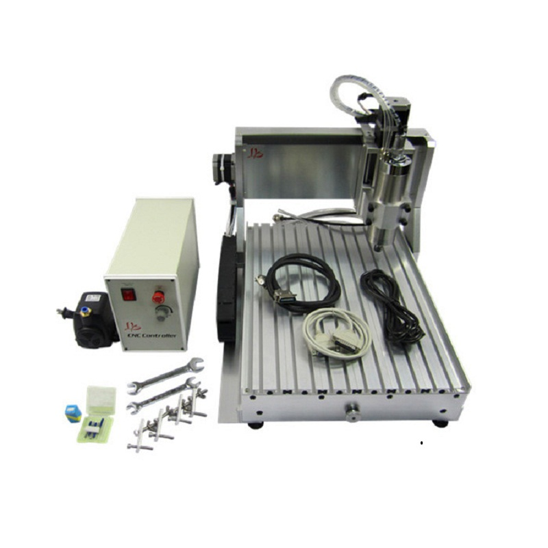 3axis CNC Router Engraver Engraving Drilling Milling Machine LY CNC 3040 Z-VFD 800W eur free tax cnc 6040z frame of engraving and milling machine for diy cnc router