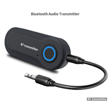 Bluetooth Transmitter 3.5MM Jack Audio Adapter Wireless Bluetooth Stereo Audio Transmitter Adapter for TV Headphones Speakers цена и фото