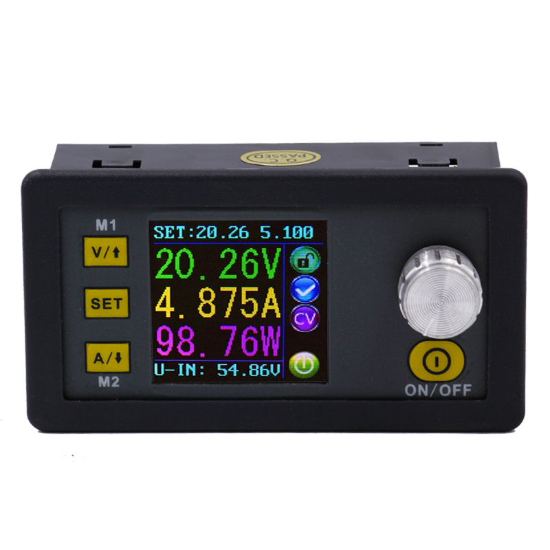 DPS5005 Constant current Step-down Programmable Power Supply module buck Voltage converter color LCD display voltmeter 20% off dph5005 voltage converter constant current step down programmable voltmeter ammeter power supply module buck lcd display 20% off