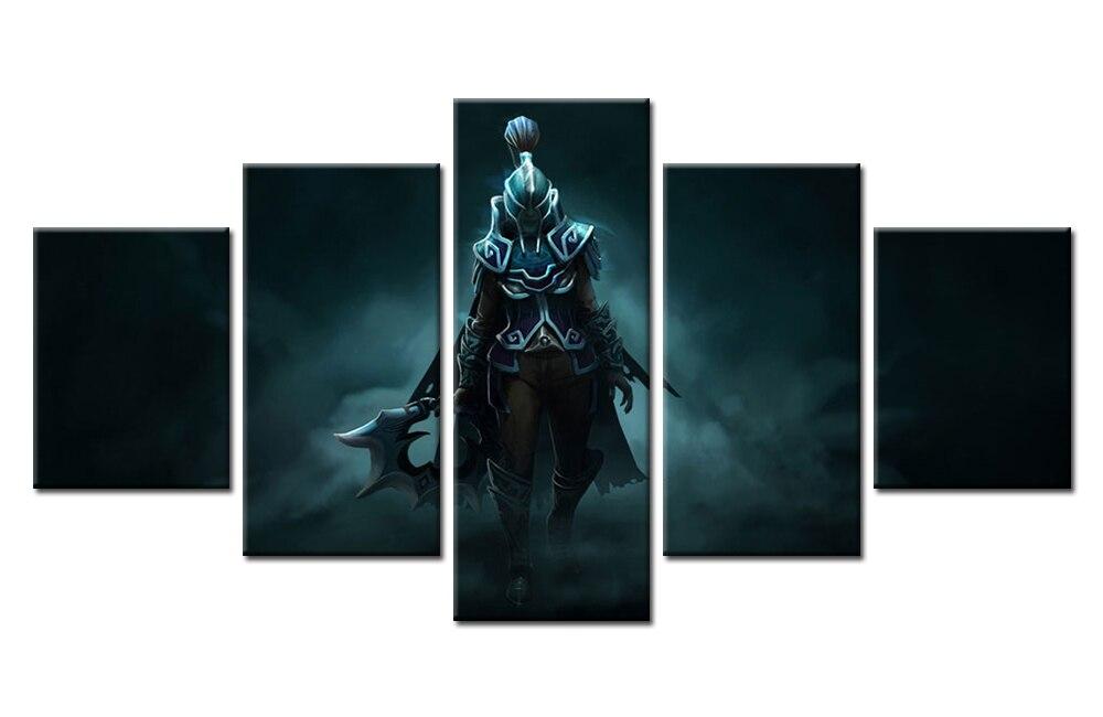 Aliexpress 5 Stcke Spiel Phantom Assassine Dota 2 Wandkunst Bild Dekoration Wohnzimmer Leinwanddruck Druck Auf Leinwand Von Verlsslichen Canvas