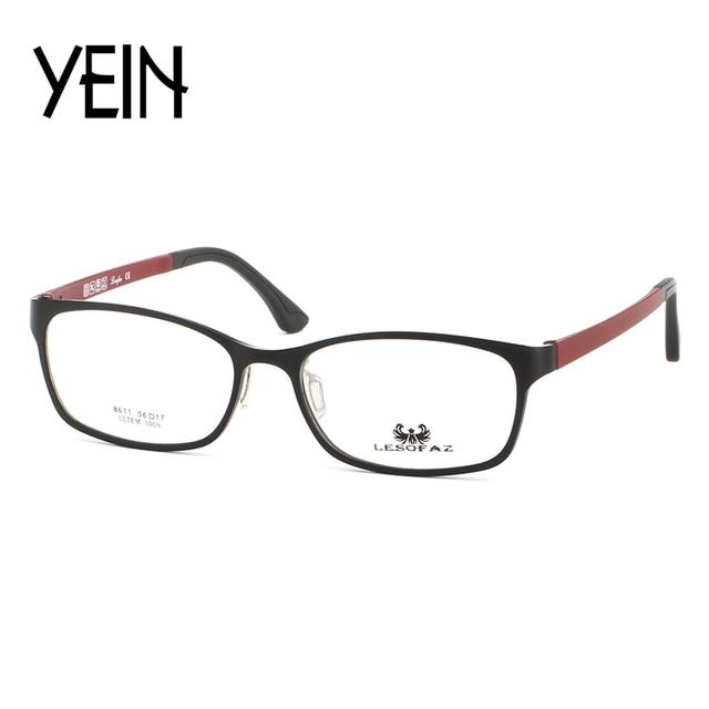 YEIN L8611 Type Men Glasses Frame Retro Designer Myopia Brand ...