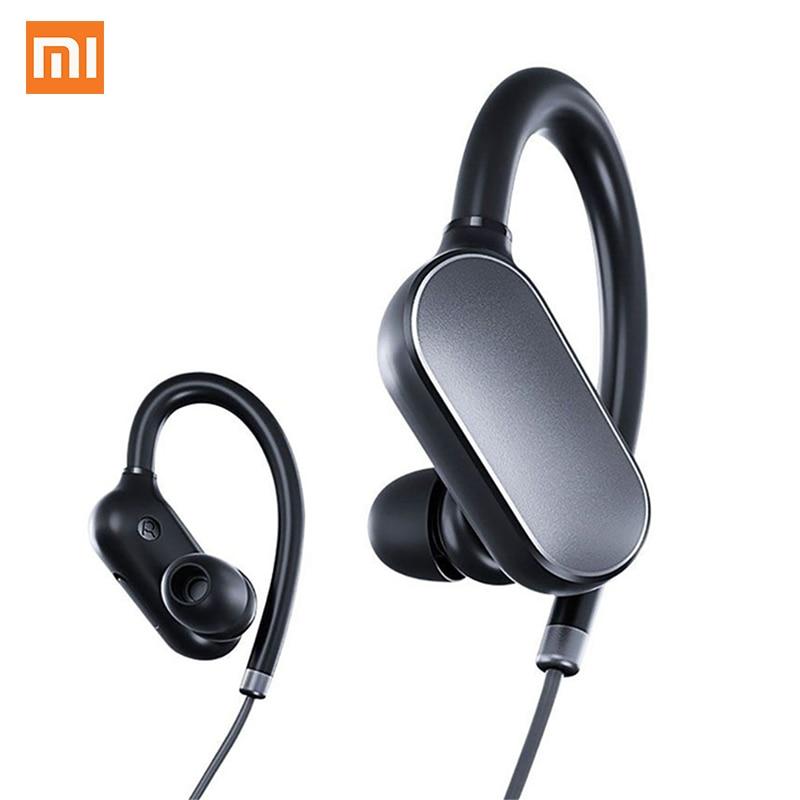 Baru Xiaomi Sports Bluetooth 4.1 Earphone Music Fon kepala Earbuds Mic Wireless Waterproof Wireless Headset untuk Xiomi Mi6 Smartphone