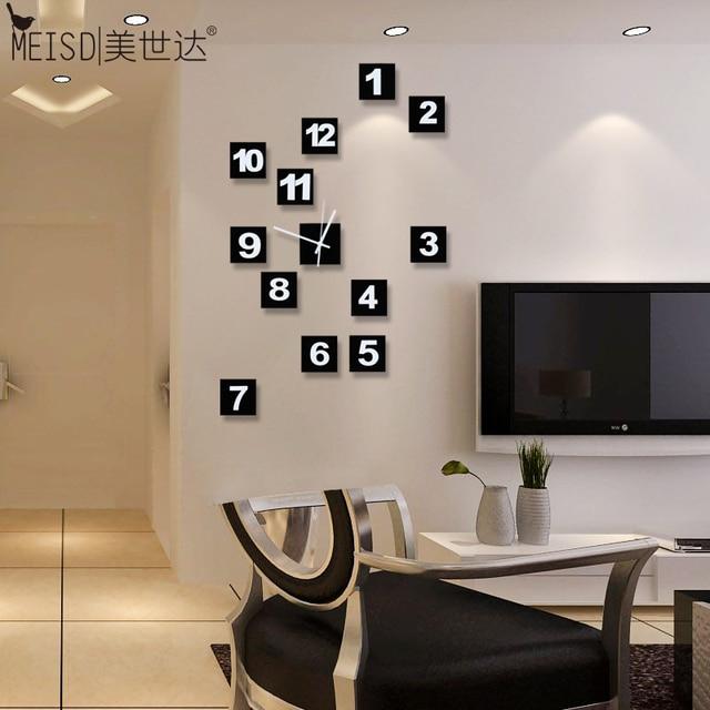 De Sata horloge DIY klok klok persoonlijkheid woonkamer moderne ...