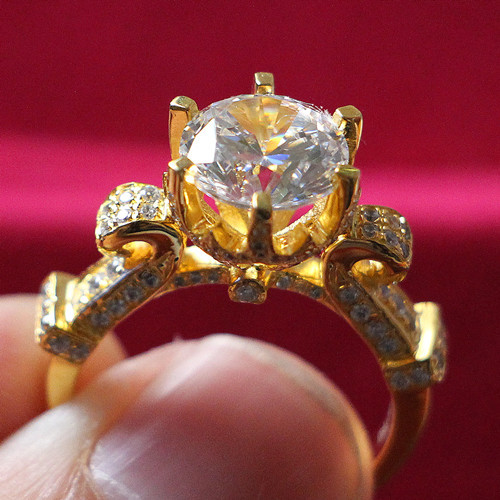 dhgate gold adjustable girls open engagement plated from cotter rings size girl ring plain end wedding product com for