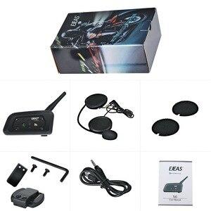 Image 5 - EJEAS V6 PRO Bluetooth אופנוע BT Communicator קסדת אינטרקום אוזניות עם 1200m האינטרפון 6 רוכבים