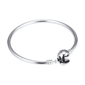 Image 5 - Le Bracelet Bracelet roi Lion sadapte aux perles bijoux en argent Sterling pour femme mode maquillage mode Bracelet européen