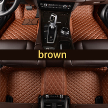 цена на lsrtw2017 leather car floor mat trunk mats for kia mohave Borrego accessories 2009-2018 2010 2011 2012 2013 2014 2015 2016 2017