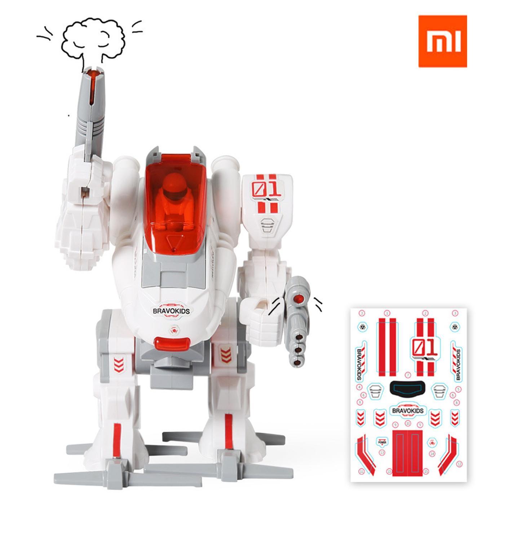 Xiaomi Mijia Bravokids Robot Builder DIY Building Blocks Robot Building And Coding Kit 54 In 1 Suit