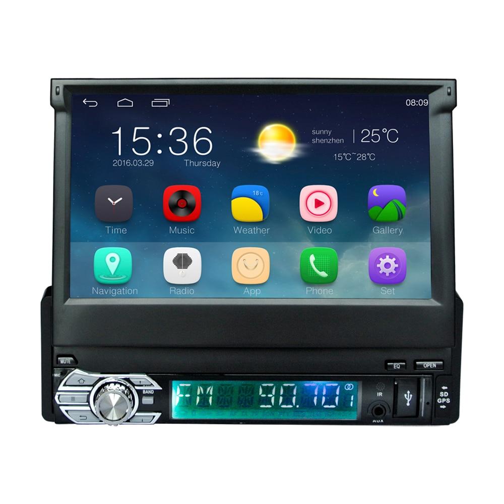 Última Android 6.0 Universal 1Din 7 pulgadas GPS del coche - Electrónica del Automóvil - foto 2