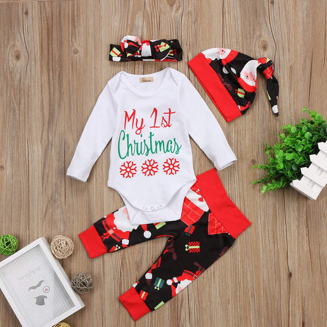 Newborn Christmas Outfit Girl.Best Website 67002c000733 First Christmas Outfit Baby Hat