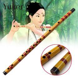 Professional Flute Bansuri Bamboo Woodwind Musical Instrument Wooden Handmade