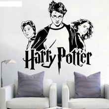 лучшая цена Vinyl wall stickers J. K. Rowling movie avatar anime movie fan home decoration wall stickers DY35