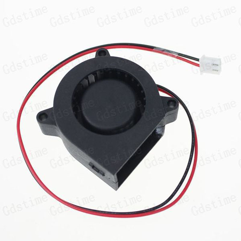 2PCS Lot Gdstime 12v 40mm 40 x 20mm 4020S DC Small Brushless Exhaust Blower Cooling Fan 20 pieces lot gdstime 40mm 40 x 40 x 10mm 4010s dc 12v 2p brushless cooler cooling fan
