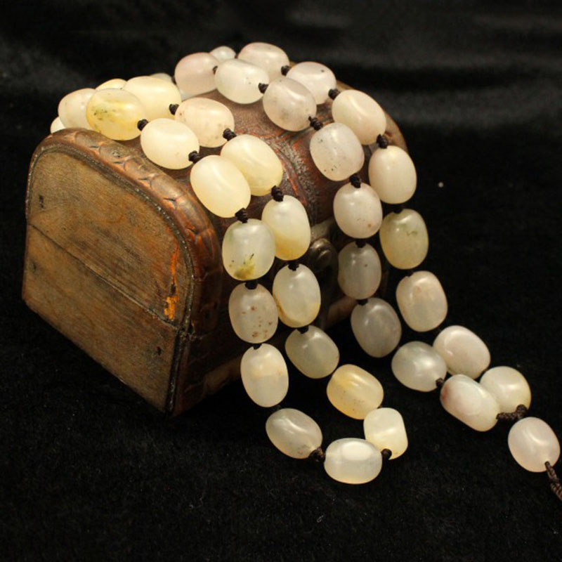 Wholesale Natural Stone Necklace Shaped Beads Necklace Lucky for Women Men DIY Simple Cold Stone Necklace Jewelry maitech 1w 3w 5w led energy saving lamp beads aluminum plate silver black 10 pcs