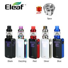100% Original Eleaf iStick NOWOS with ELLO Duro kit 6.5ml with 4400mAh battery & HW-M/HW-N Dual Head Faster Charging Vape Kit(China)