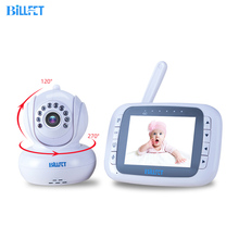 "3.5""LCD Baby Monitors Digital Night Vision IR Camera Pan Tilt PTZ Zoom Video Wireless Monitor Vox function 3 Lullabies"