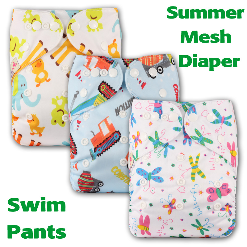 Reusable Pocket Real Cloth Nappy Washable Diaper Bamboo Charcoal with 1 Microfibre Insert Pattern 26 Littles /& Bloomz