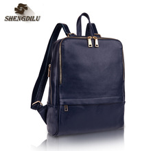 The New Genuine Leather Bags Multipurpose Women Fashion Brand Genuine Leather Backpacks For Lady