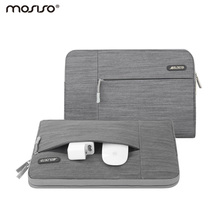 Mosiso Carrying Bag Denim Jeans Laptop Sleeve Case for Macbook Air Pro 13 15 Asus Lenovo Samsung Acer Chromebook 11.6 13.3(China)
